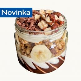 Banán - Čokoláda